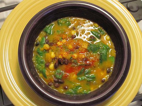 Butternut Squash Black Bean Soup | Food / Recipes | Pinterest