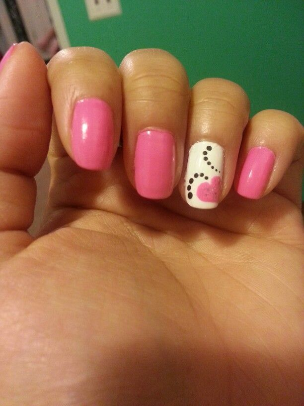 Simple, easy nail art | Nails | Pinterest