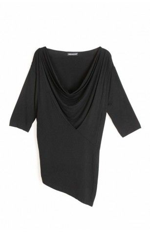 Slouchy Panel T-Shirt   THE URBAN APPAREL Slouchy short sleeved t
