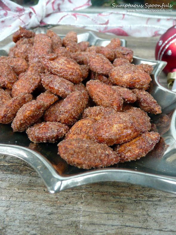 Cinnamon Roasted Almonds' I'm going to try this with walnuts (not a ...