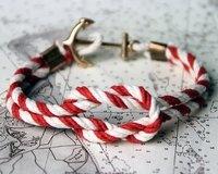 Me likes. B-day 8/27...Knotted Shackle Bracelet by JLK