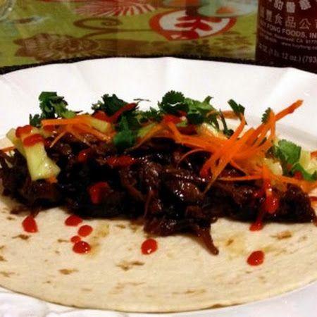 Crockpot Korean Short Rib Tacos | New Recipes to Try | Pinterest