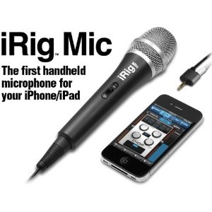 An affordable microphone that plugs into the audio jack of your smartphone. Perfect for interviews in noisy areas.