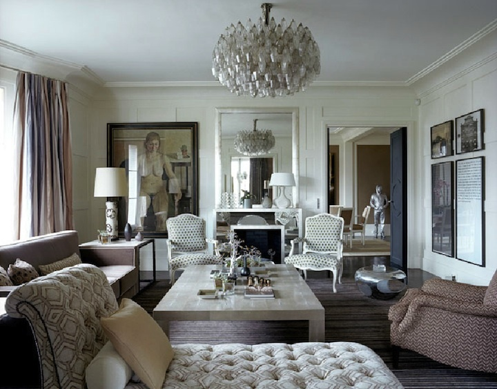 Jl deniot paris living room paris apartments pinterest for Paris living room ideas