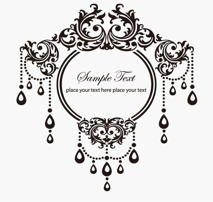 oval filigree frame tattoo. Ornate Oval Frame Tattoo Victorian Frames Filigree E