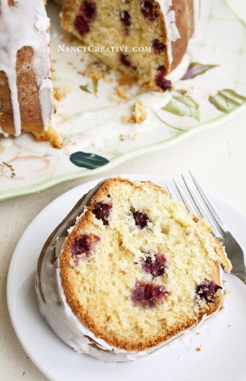 Blackberry Buttermilk Cake | Cake | Pinterest