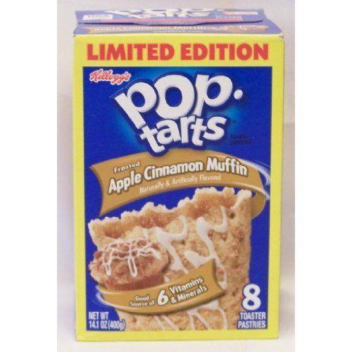 Kellogg's Frosted Apple Cinnamon Muffin Pop Tarts ($9.99)