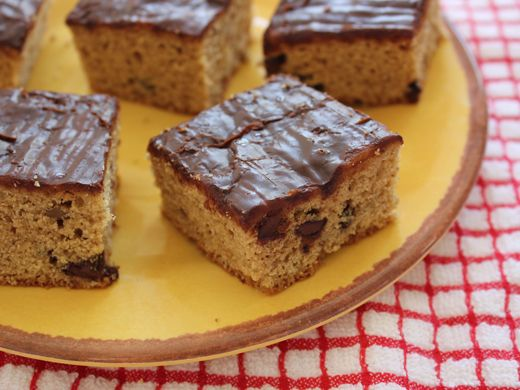 Maple Pecan Blondies With Maple Butter Glaze Recipes — Dishmaps
