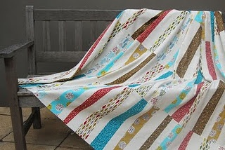 Pictures of Ugly Quilts: Kokopelli Stack and Slash Quilt