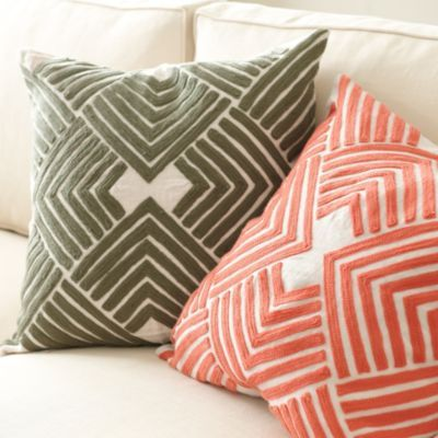 Lulu Embroidered Pillow