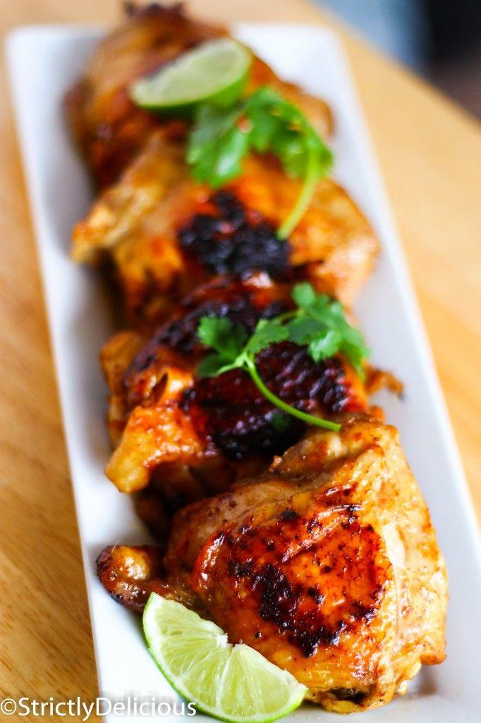 Caribbean Chicken via StrictlyDelicious