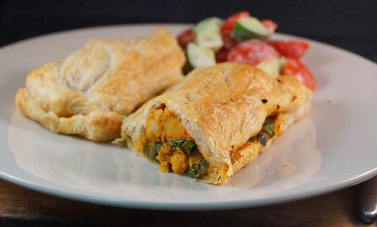 Curry Chickpea & Potato Pie - Vegan | Recipes | Pinterest