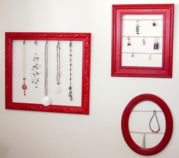 Jewellery storage frames queen