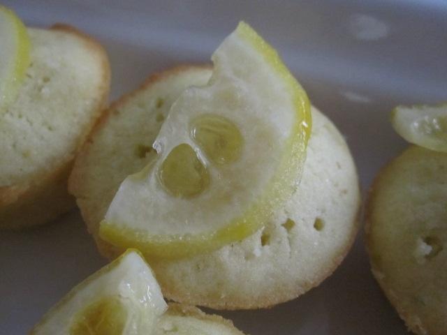 lemon lime tea cakes | Big Girl Tea Party | Pinterest