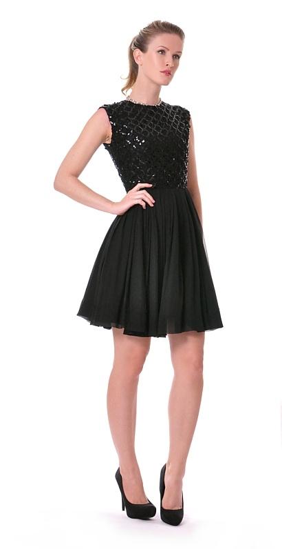Damsel In A Dress Silk Black