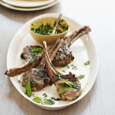 Lamb Chops with Mint Gremolata | Recipe