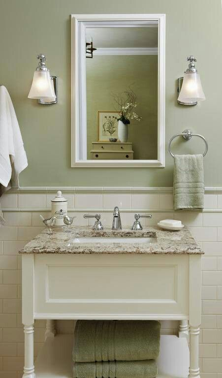 Light Green Bathroom Alluring Design Inspiration