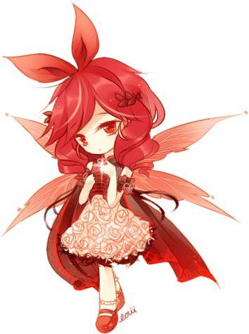 chibi anime girls fairy - photo #2