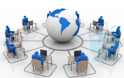 Online Business Training Clip Art