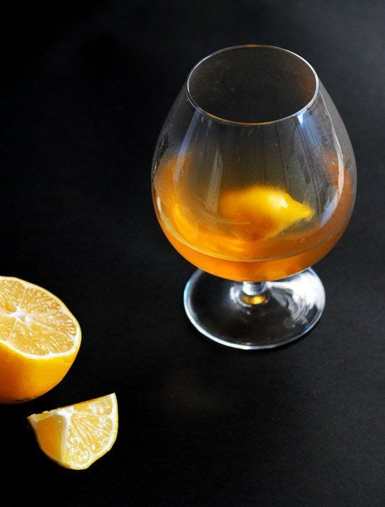 Chamomile Bourbon Hot Toddy