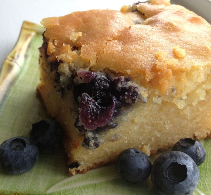 blueberry mochi cake!! | Sweet Therapy | Pinterest