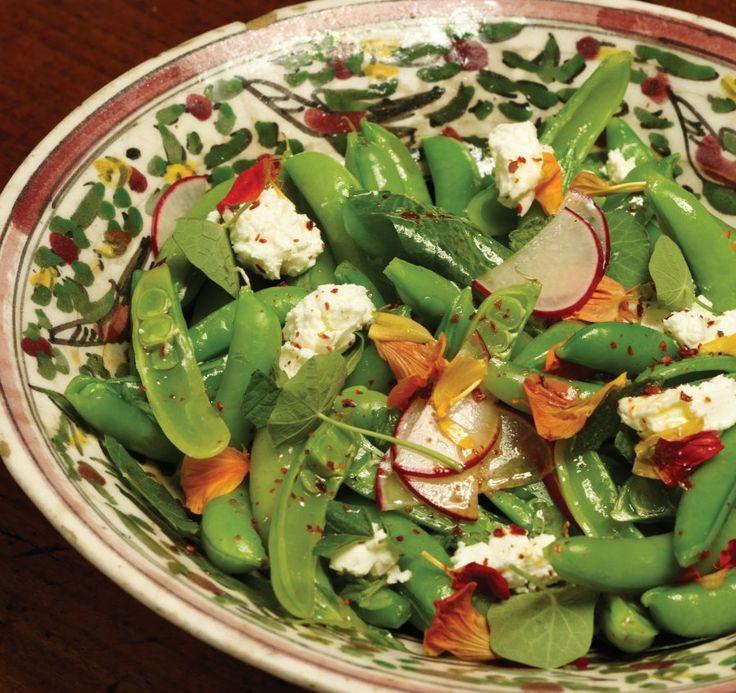 Sugar Snap Pea Salad sugar snap peas, radishes, ricotta, fresh ...