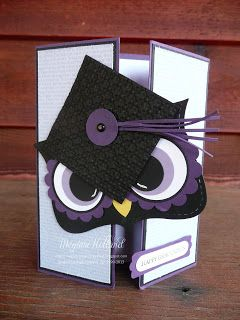 Too - too cute! Mr. Owl Happy Graduation Card 5/22/13