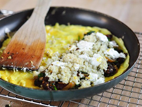 Sun-Dried Tomatoes, Spinach, and Goat Cheese. Make with ricotta and ...