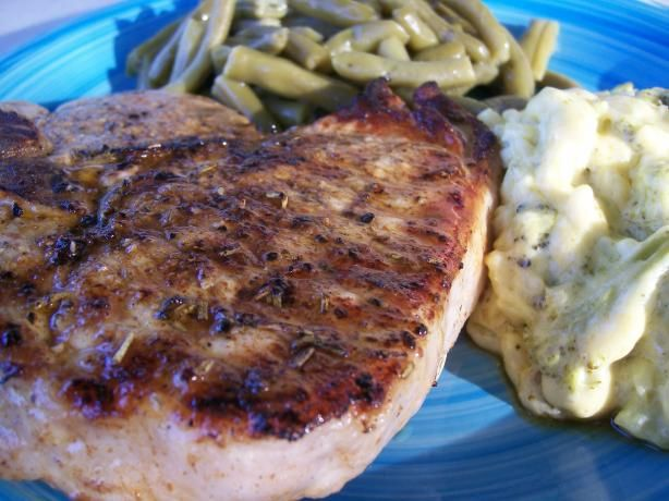 Sage and Rosemary Pork Chops. Photo by Crafty Lady 13