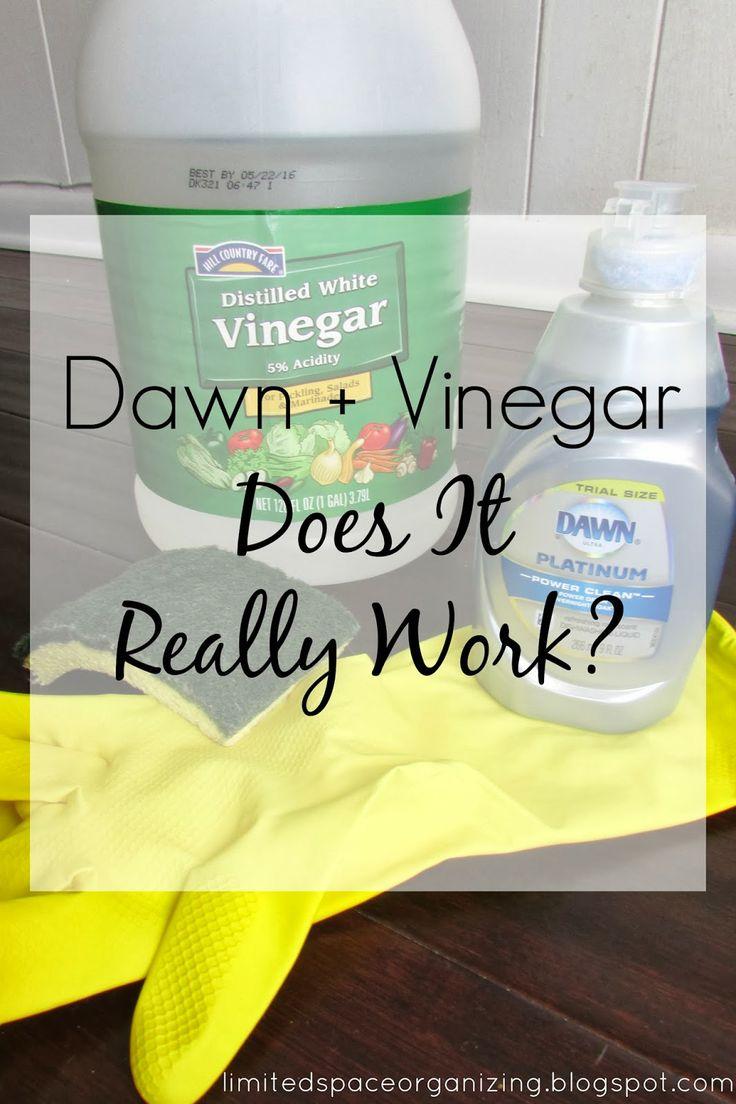 dawn vinegar does it really work for the home pinterest. Black Bedroom Furniture Sets. Home Design Ideas