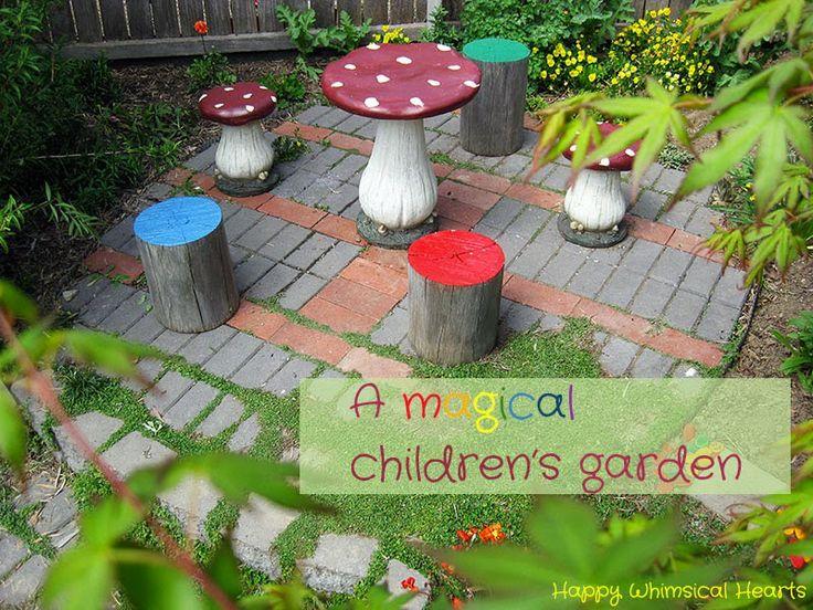 Childrens garden ideas google search gardens for for Garden design for children