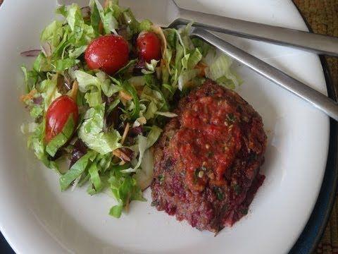 How To Make Vegetarian Lentil Burgers | Recipes 1 | Pinterest