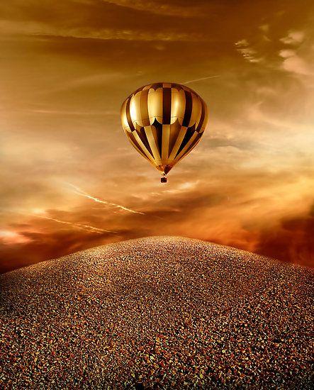 Golden Hot Air Balloon Tour