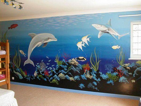 Kids Bedroom Wall Murals Amazing Inspiration Design