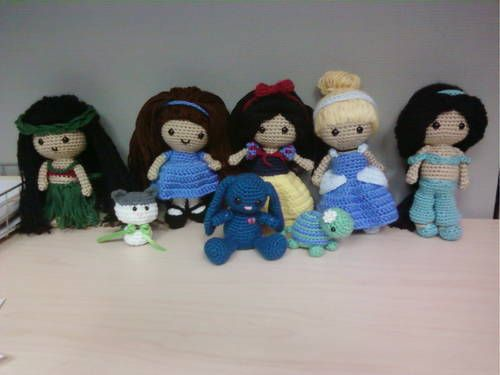 Amigurumi Disney Princess : Disney Amigurumi Related Keywords & Suggestions - Disney ...
