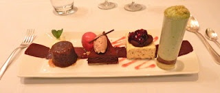 , and toffee sauce; cookies and cream parfait, mocha cappuccino, warm ...