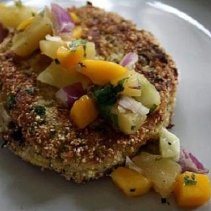 Caribbean Grilled Crab Cakes Recipe — Dishmaps