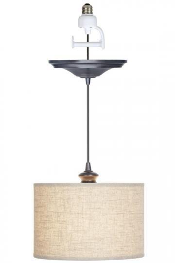 instant pendant light conversion kit pretty lighting pinterest. Black Bedroom Furniture Sets. Home Design Ideas