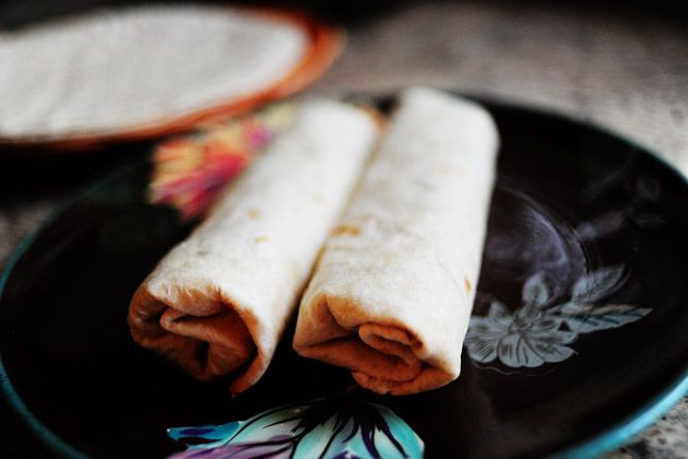 ... Ree Drummond / The Pioneer Woman, via Flickr- Beef and bean burritos
