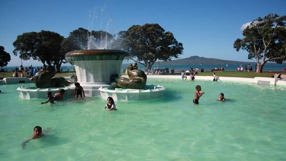 Mission bay auckland kiwiana pinterest - Mission bay swimming pool auckland ...