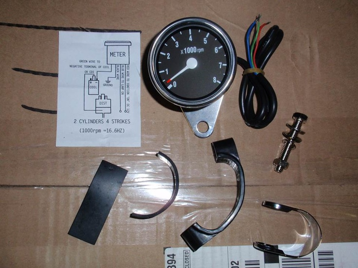 Tachometer For An 87 Rebel 250