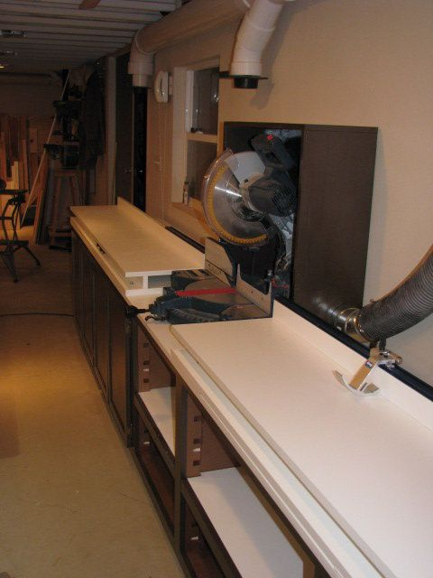 Mitre Saw Bench 2 Woodworking Miter Pinterest