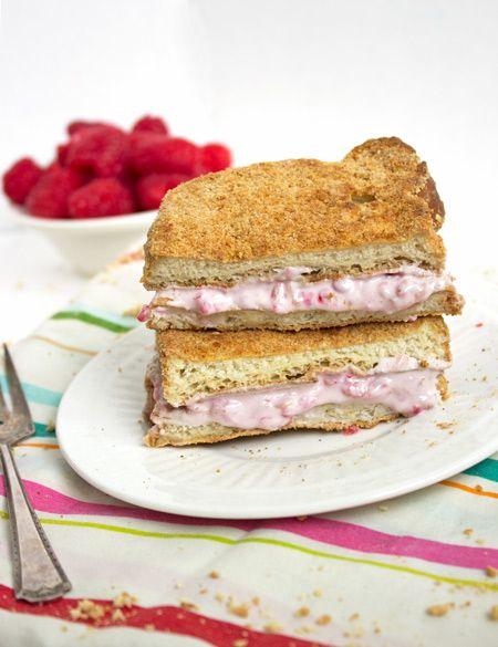 Skinnier Raspberry Cheesecake French Toast | Recipe