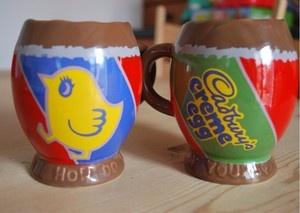 Cadbury's Creme Egg Mugs   Home   Pinterest