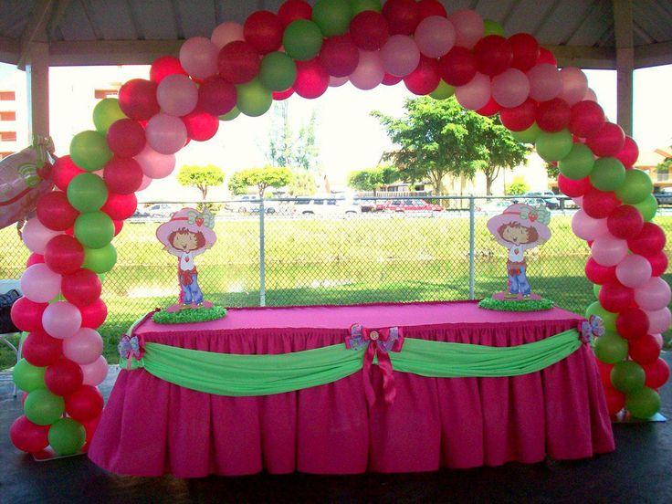 strawberry shortcake baby shower brianas baby shower pinterest