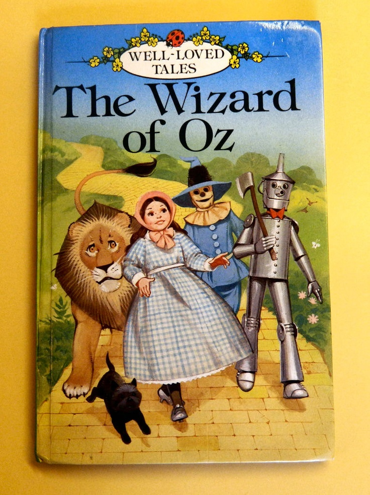 Vintage the wizard of oz ladybird book by l frank baum retold by