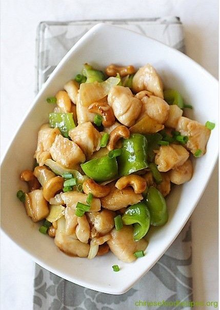 Cashew Chicken | Chinese Food Recipes. | I feel like Asian tonight ...