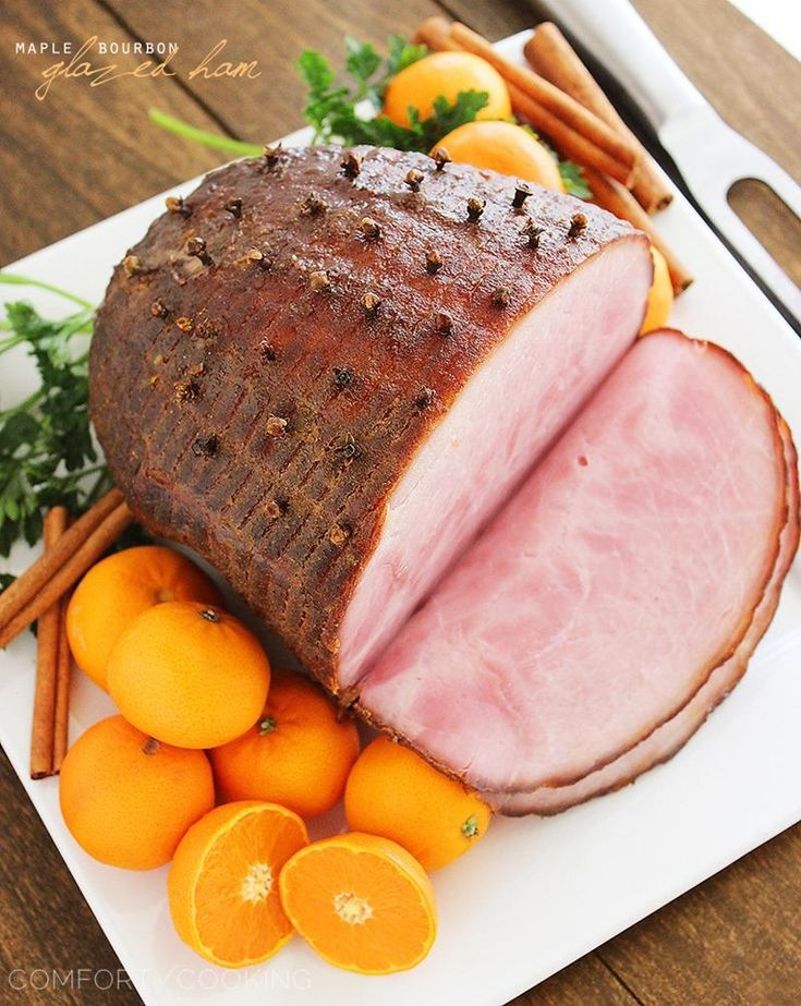 Bourbon-Orange-Glazed Ham Recipes — Dishmaps