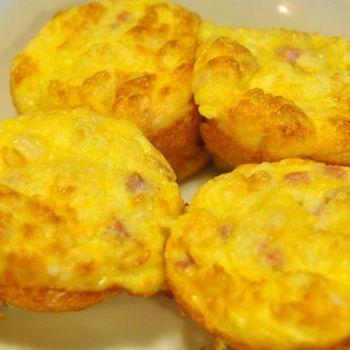egg ham amp cheese muffins recipe