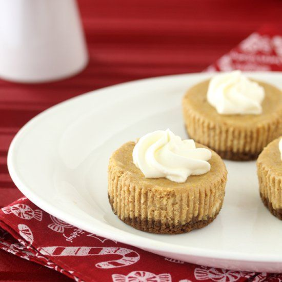 Gingerbread Cheesecake Cupcakes combine the rich flavors of ...